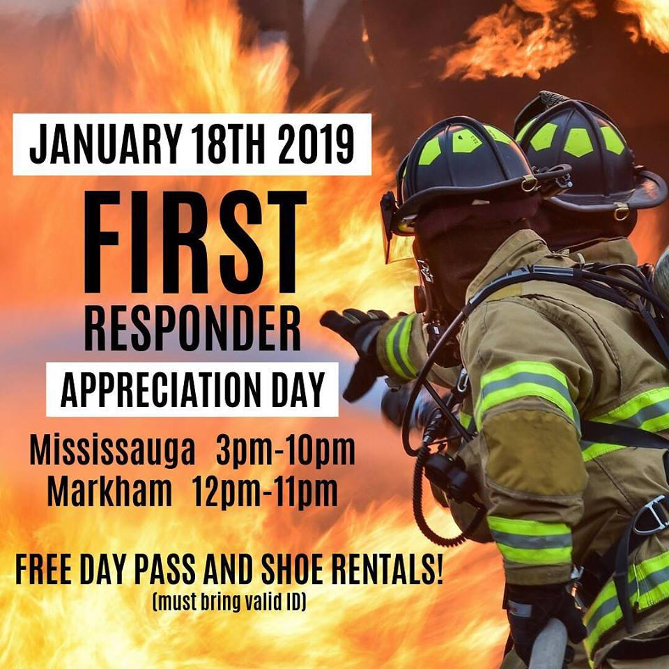 First Responders appreciation nights