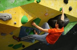 Youth Development climber