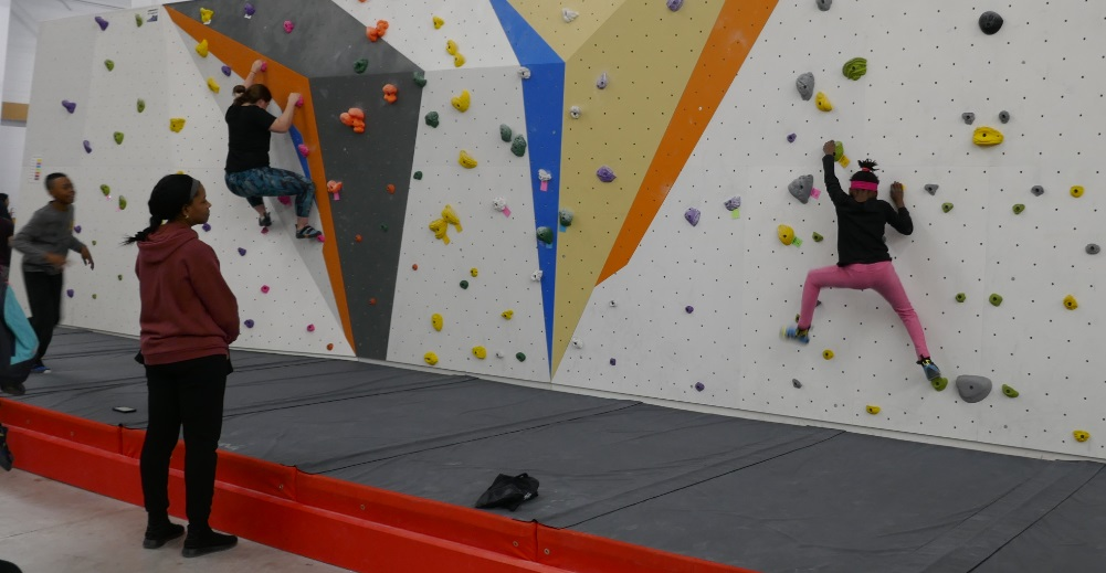 kids climbing at gym is fun frenetic exercise safe and healthy thrilling parties camp