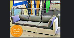 new sofas for social climbers cartoon picture