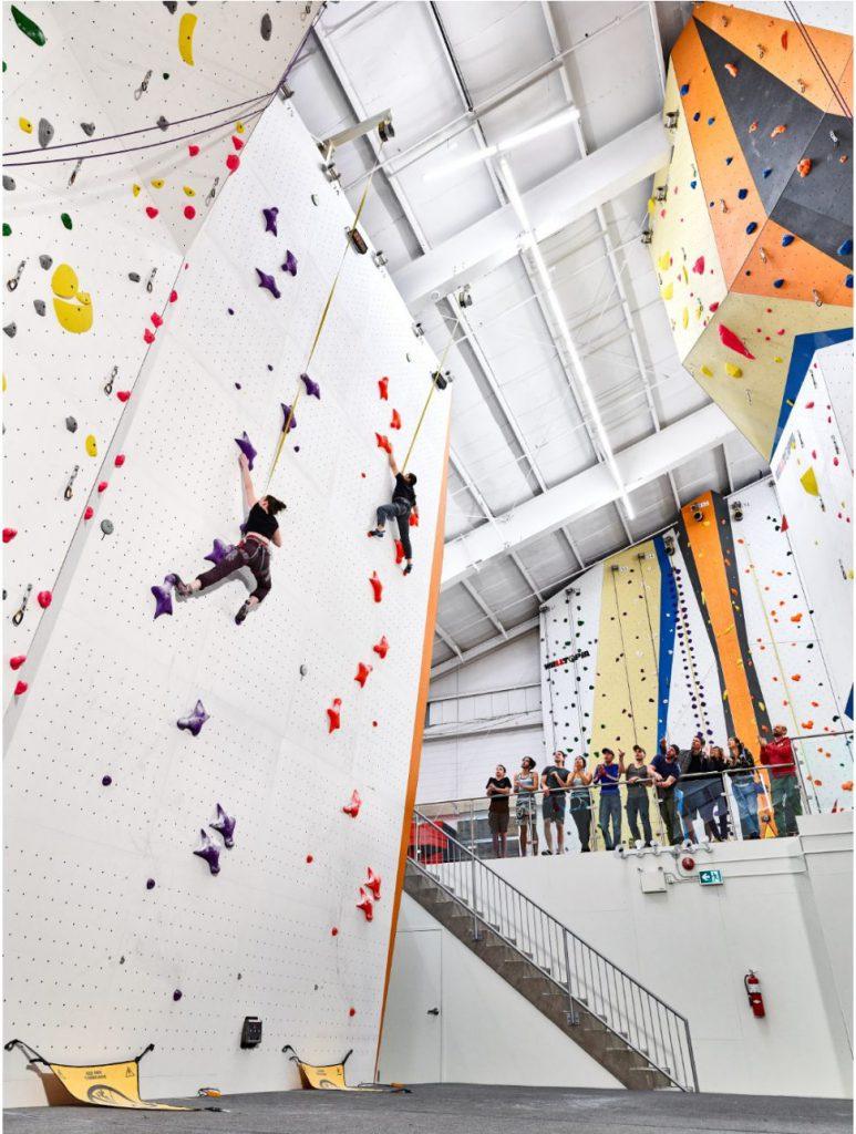 Speed wall rock climbing oakville mississauga