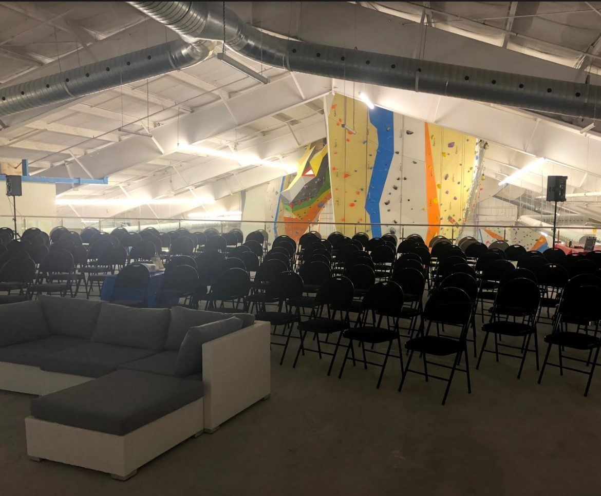 Upstairs Rock Climbing Mississauga event venue